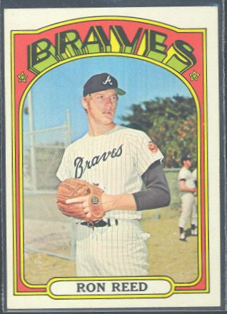 Baseball Cards - 1972 Topps Ron Reed #787 - Braves