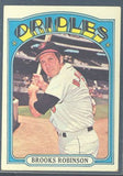 Baseball Cards - 1972 Topps Brooks Robinson #550 - Orioles