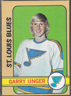 Hockey Cards - 1972-73 - Topps Gary Unger #35 - Blues