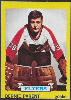 Hockey Cards - 1973-74 - Topps Bernie Parent #66 - Flyers