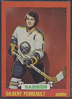 Hockey Cards - 1973-74 - Topps Gilbert Perreault #70 - Sabres