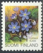Finland 835 MNH - Provincial Flowers - Hepatica