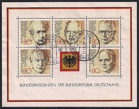 Germany 1384 Used - Presidents