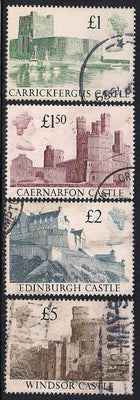 Great Britain 1230-1233 Used - High Value Castles