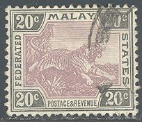 Malaya 32 Used - Tiger