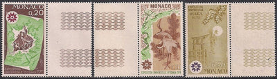 Monaco 753-757 MNH - Selvedge - EXPO '70 Osaka Japan
