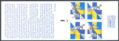 Sweden 2092a Complete Booklet - Sports