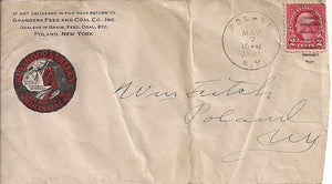 US 2¢ Advertising Cover - Poland, NY