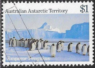 Australian Antarctic Territory L74 Used - ‭Emperor Penguins, Auster Rookery
