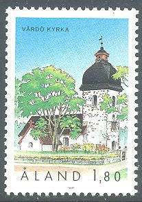 Aland 40 MNH - Vardo Church