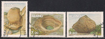 Aland 96 & 102 & 105 Used - CTO - Rock Formations