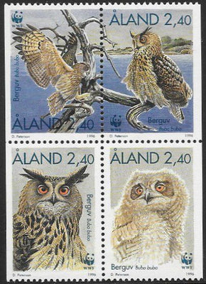 Aland 125a MNH - ‭Birds - Owls