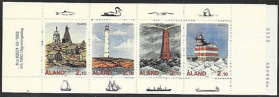 Aland 67a MNH - Complete Booklet - Lighthouses