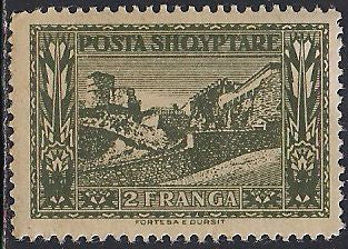 Albania 153 MNH - View of Dursit