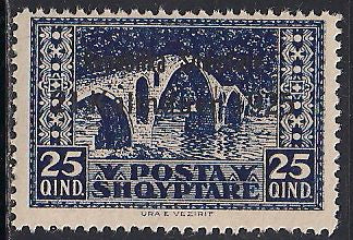 Albania 175 MNH - Bridge at Vezirit