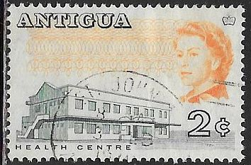 Antigua 169a Used - Health Center - Elizabeth II