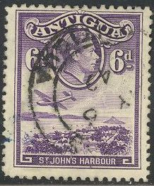 Antigua 90 Used - St. John's Harbor - George VI