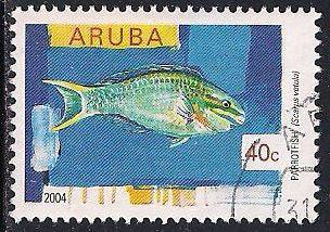 Aruba 248 Used - Fish - Parrotfish