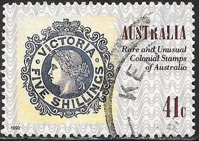 Australia 1180d Used - Stamps on Stamps - Victoria