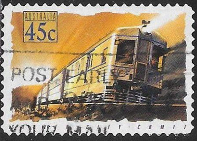 Australia 1333 Used - Trains - ‭‭Silver City Comet