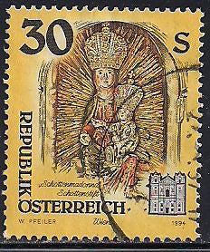Austria 1608 Used - Monasteries