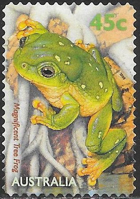 Australia 1794 Used - Pond Fauna - Magnificent Tree Frog