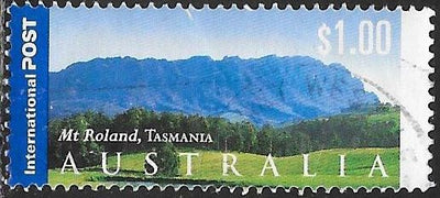 Australia 2056 Used - Tourist Attractions - ‭Mt. Roland