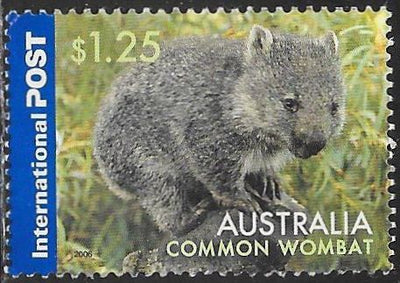 Australia 2498 Used - Animals - Common Wombat