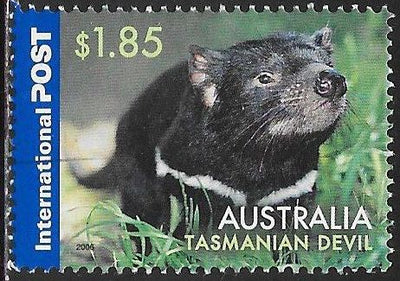 Australia 2499 Used - Animals - Tasmanian Devil