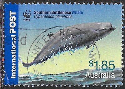 Australia 2537 Used - Worldwide Fund for Nature (WWF) - ‭Southern Bottlenose Whale