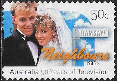 Australia 2580 Used - ‭Television in Australia, 50th Anniversary - ‭Neighbours