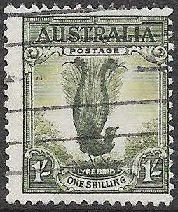 Australia 300 Used - Male Lyrebird