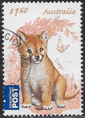 Australia 3533 Used - Baby Animals - Dingo