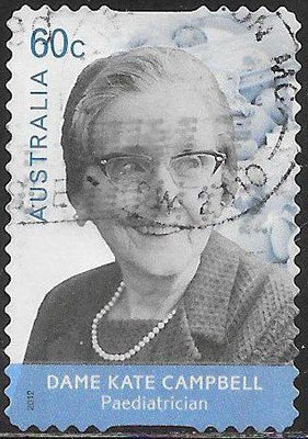 Australia 3685 Used -  Medical Doctors - ‭Dame Kate Campbell (1899-1986), Pediatrician