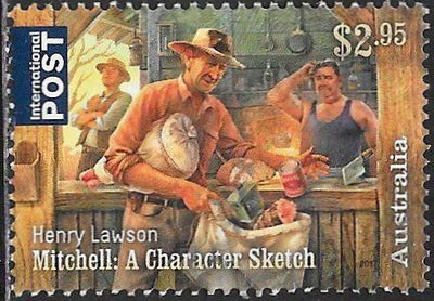 Australia 4642 Used - Henry Lawson (1867-1922) Writer - Mitchell: A Character Sketch