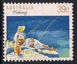 Australia 1109d Used - Fishing