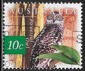 Australia 1525 Used - Flora & Fauna - Bird - Powerful Owl