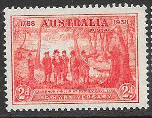 Australia 163 Unused/Hinged - ‭150th Anniversary of New South Wales
