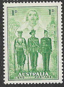 Australia 184 Unused/Hinged - ‭‭Australia's Participation in WWII