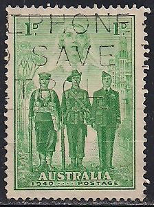 Australia 184 Used  - ‭‭Australia's Participation in WWII
