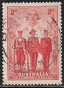 Australia 185 Used - ‭‭Australia's Participation in WWII