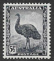 Australia 196 Unused/Hinged - Emu