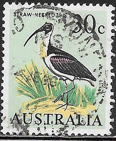 Australia 411 Used - Bird - Straw-Necked Ibis