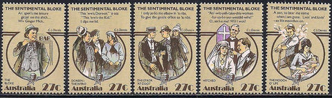 Australia 881a-e MNH - The Sentimental Bloke