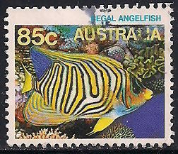 Australia 918 Used - Sea Life - Angel Fish