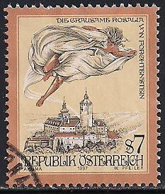 Austria 1718 Used - The Cruel Lady of Forchtenstein Castle, Burgenland