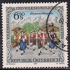 Austria 1730 Used - Costumes - Marching band, Tyrol