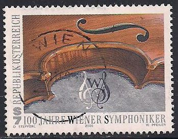 Austria 1825 Used - Music - Vienna Philharmonic Orchestra Centanary - Socked on the Nose
