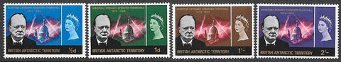 British Antarctic Territory 16-19 MNH - Winston Churchill