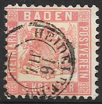 Baden 20 Used - Socked on the Nose - Heidelberg - Socked on the Nose